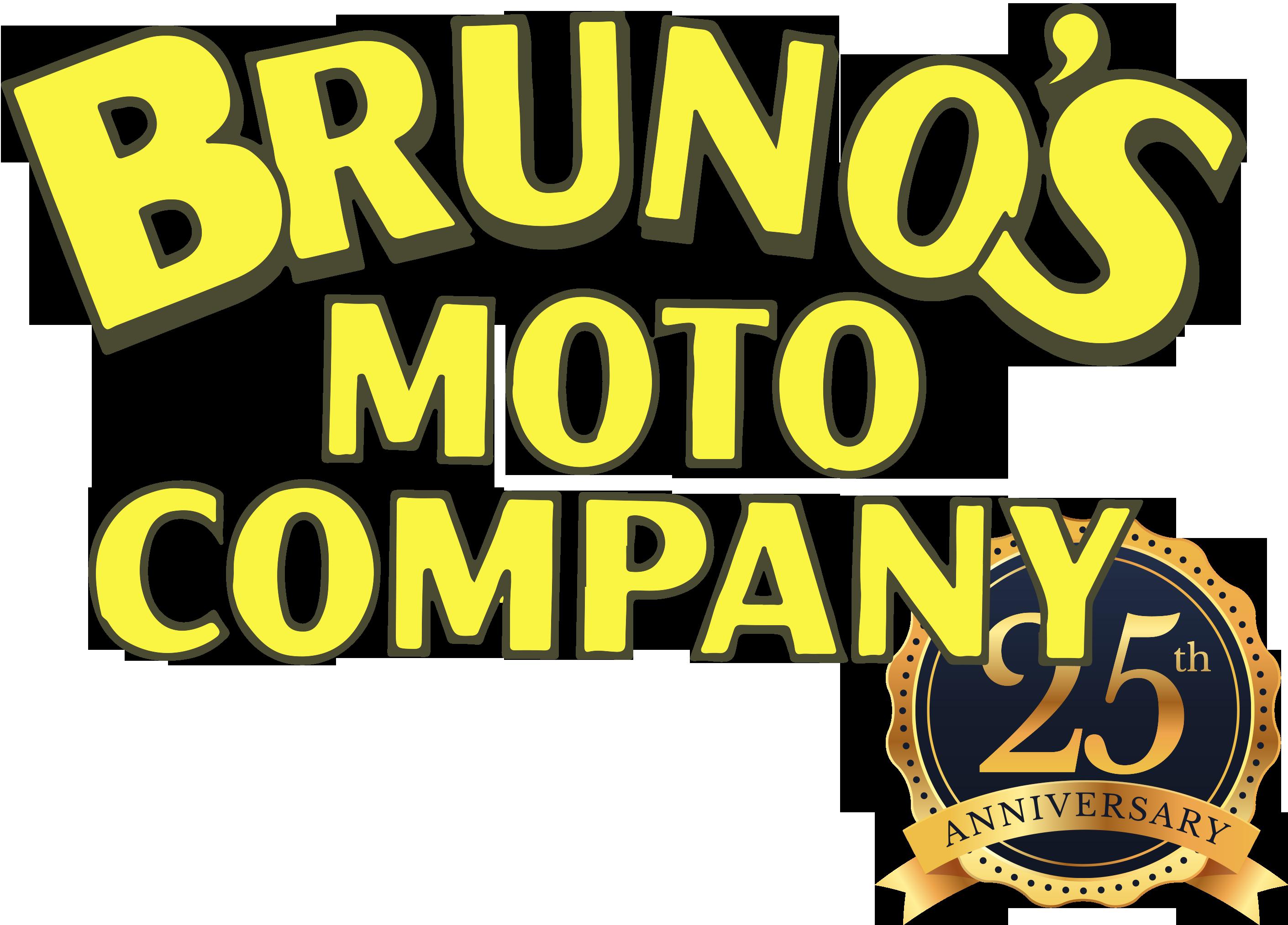 Logo Bruno's Moto Company 25 Jahre