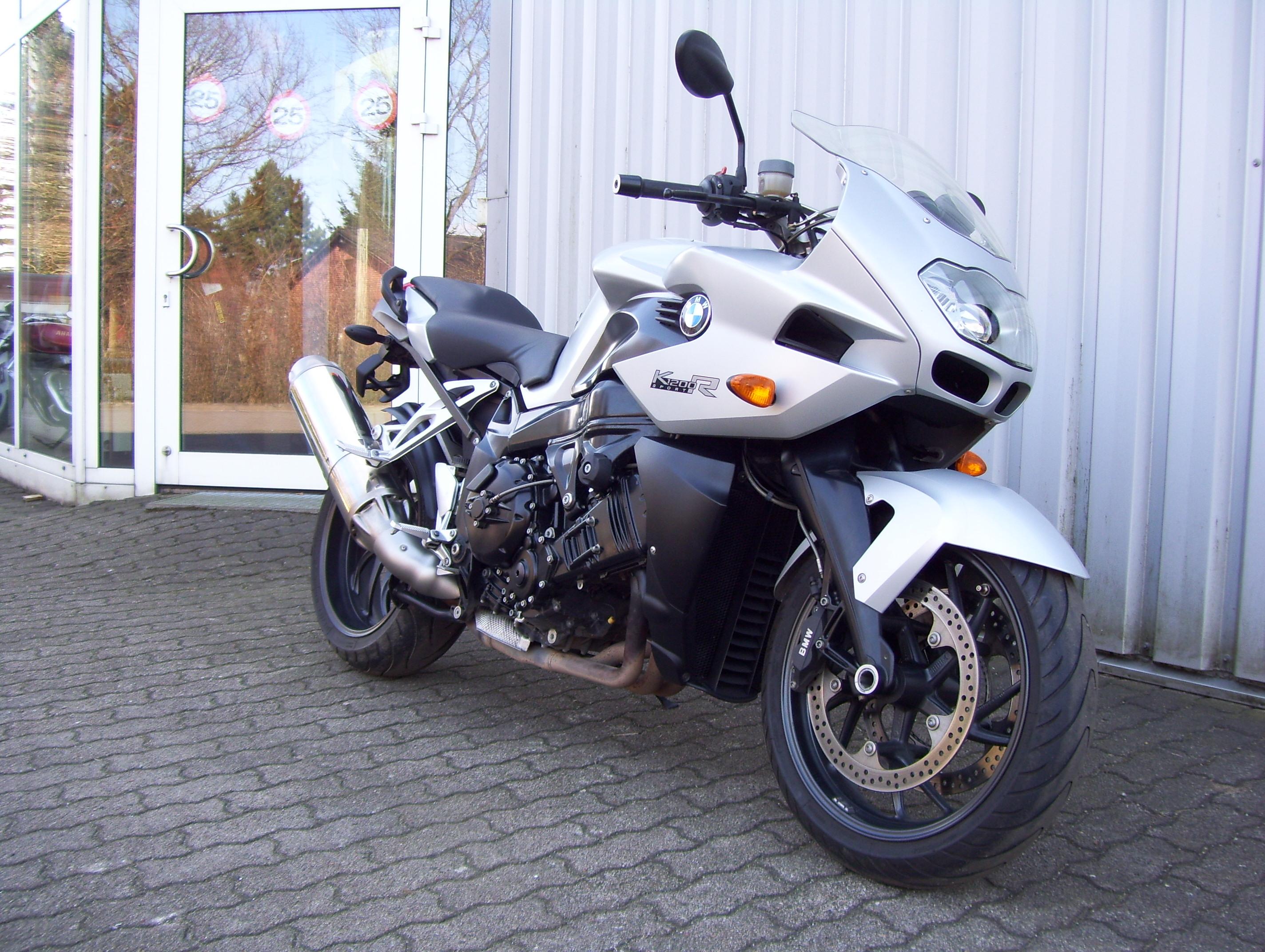 BMW K1200 R Frontansicht rechts