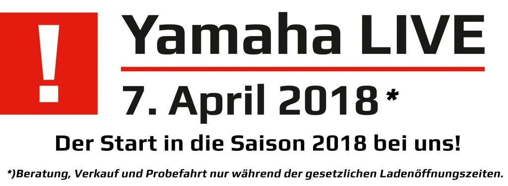 Yamaha Live 07. April 2018