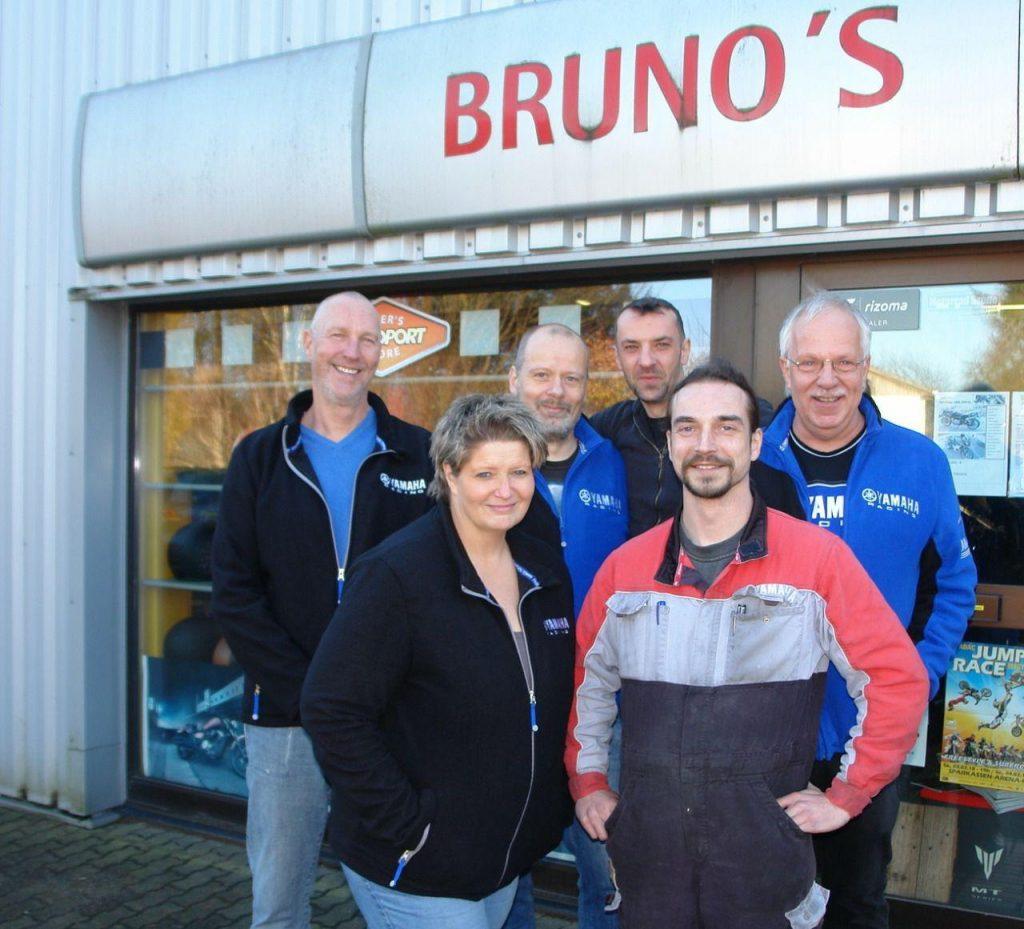 Das Team von Bruno's Moto Company