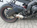Yamaha YZF-R 6 schwarz Auspuff