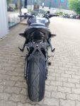 Yamaha YZF-R 6 schwarz Heckansicht