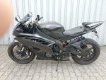 Yamaha YZF-R 6 schwarz Seitenansicht links
