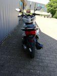 Honda Roller PCX 125 weiß Heckansicht