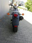 Suzuki RV 125 Van Van schwarz Heckansicht