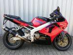 Kawasaki ZX6-R rot (1998) Seitenansicht rechts