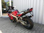 Kawasaki ZX6-R rot (1998) Heckansicht links